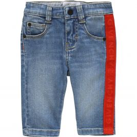 H04068 : BABY BOY DENIM TROUSER : GIVENCHY