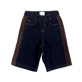 JMF259 A6IQ : BOY DENIM BERMUDA