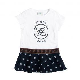 JFB316 AACG : GIRL JERSEY DRESS