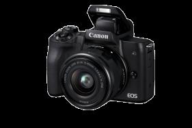 EOS M50 Mirrorless Digital Camera with 15-45mm Lens