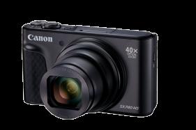 PowerShot SX740 HS Digital Camera (Black)