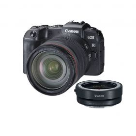 EOS RP Mirrorless Digital Camera with 24-105mm Lens and Mount Adaptor