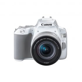 EOS 250D with 18-55mm Lens  (White)
