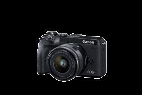EOS M6 Mark II Mirrorless Digital Camera with 15-45mm Lens