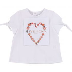 H05124 : BABY GIRL S/S T-SHIRT : GIVENCHY