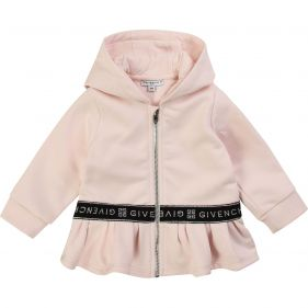 H05127 : BABY GIRL HOODED CARDIGAN : GIVENCHY