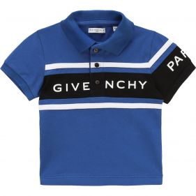 H05114 : BABY BOY S/S POLO : GIVENCHY