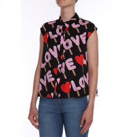 CFWCD17 00 T9964 : SHIRT: LOVE MOSCHINO:0017
