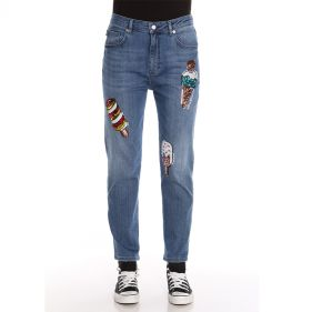 CFWQ381 40 S3386 : JEANS: LOVE MOSCHINO:208C