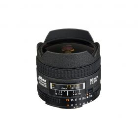 AF Fisheye-NIKKOR 16mm f/2.8D Lens