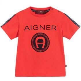 55106 : BABY BOY T-SHIRT : AIGNER