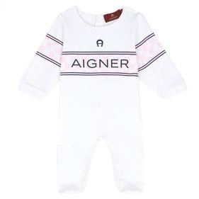 57165 : BABY ROMPER : AIGNER