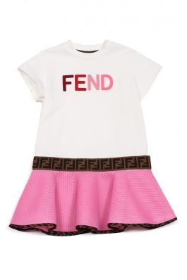JFB381 ACZW : GIRL DRESS : FENDI