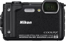 COOLPIX W300 Digital Camera (Black)