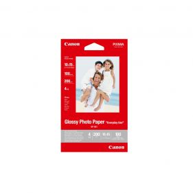 Glossy Photo Paper - 4x6 Size - 100 Sheet Pack (GP-501)