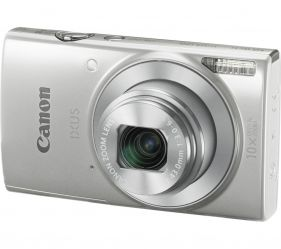 IXUS 190 Digital Camera (Silver)