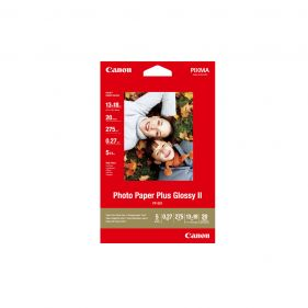 Photo Paper Plus Glossy II - 5x7 Size - 20 Sheet Pack (PP-201)