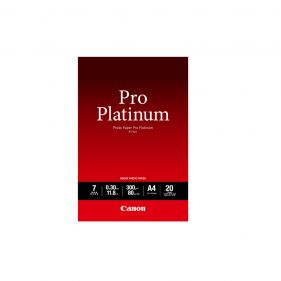 Pro Platinum Photo Paper - A4 Size - 20 Sheet Pack (PT-101)
